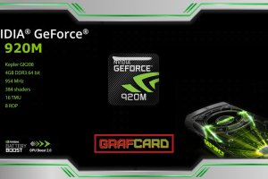 Обзор видеокарты nVidia GeForce GT 920M