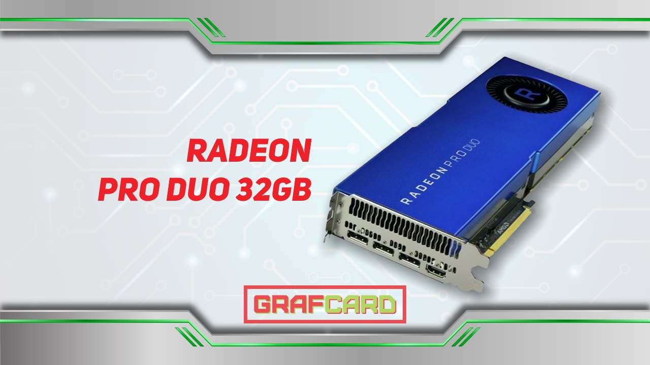 Radeon PRO DUO 32Gb Polaris