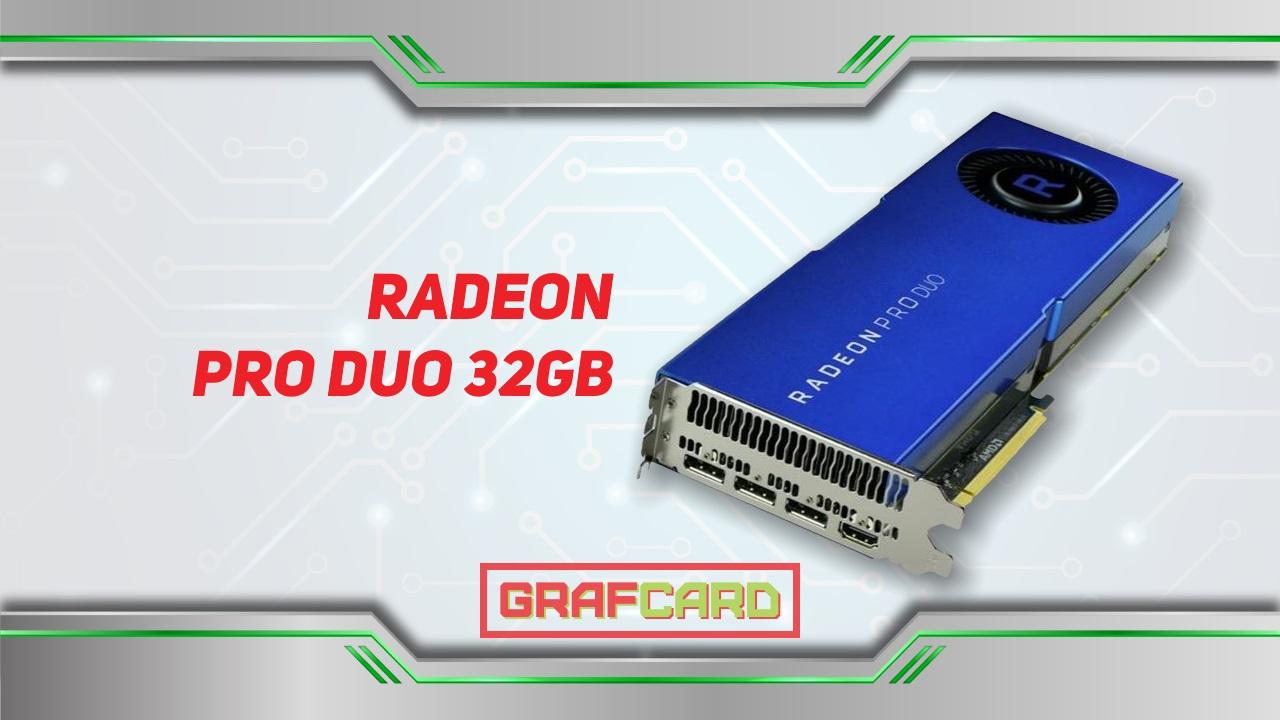 Radeon PRO DUO 32Gb Polaris