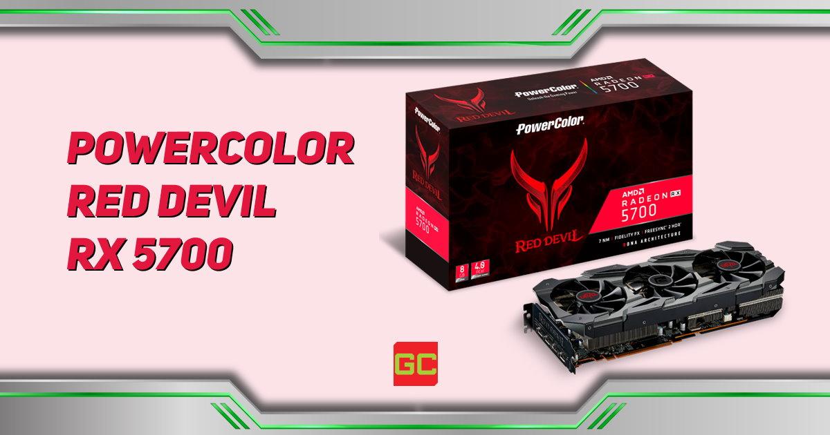 PowerColor Red Devil Radeon RX 5700 - AXRX 5700 8GBD6-3DHE/OC