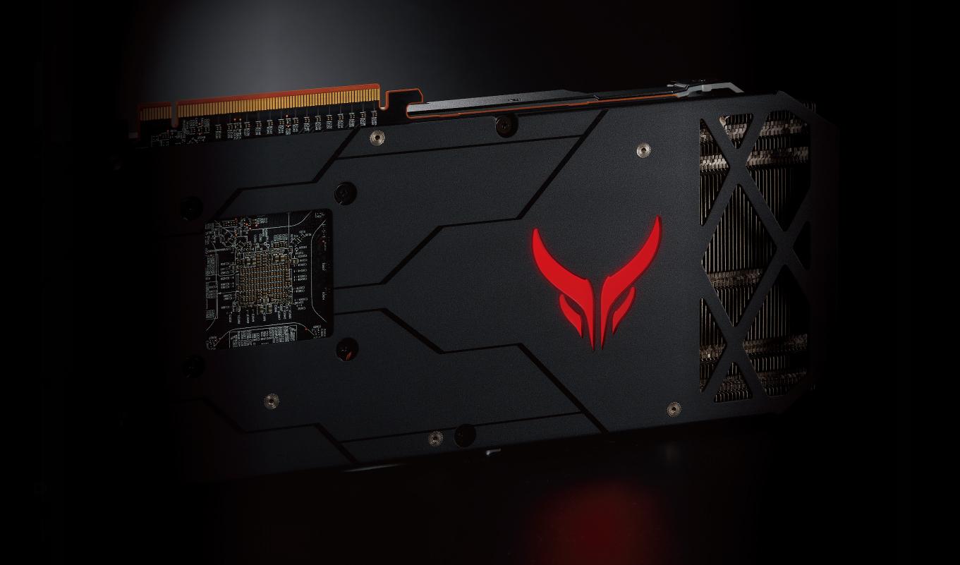 PowerColor Red Devil AXRX 5700 8GBD6-3DHE/OC - Бэкплэйт