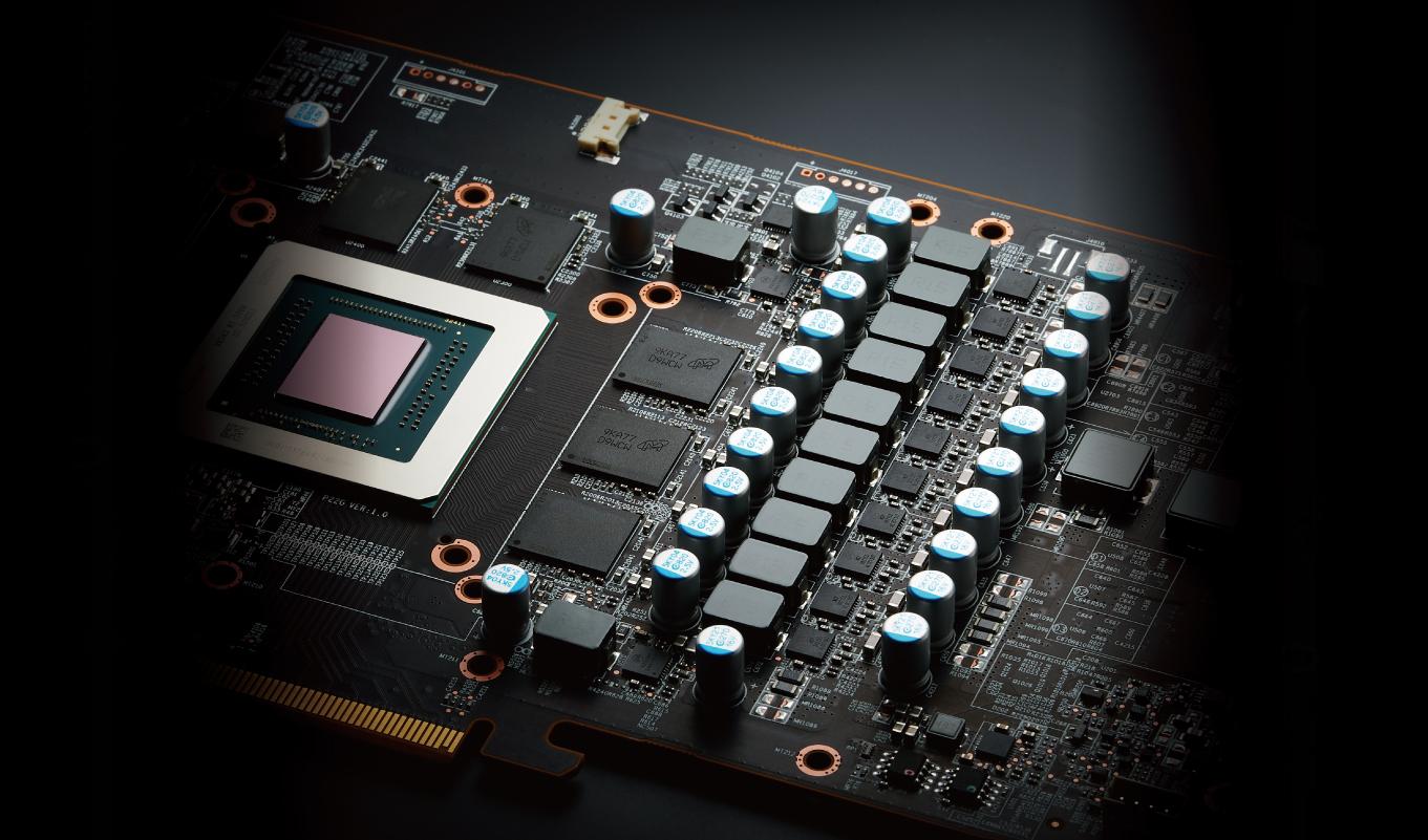 PowerColor Red Devil AXRX 5700 8GBD6-3DHE/OC - Фазы питания